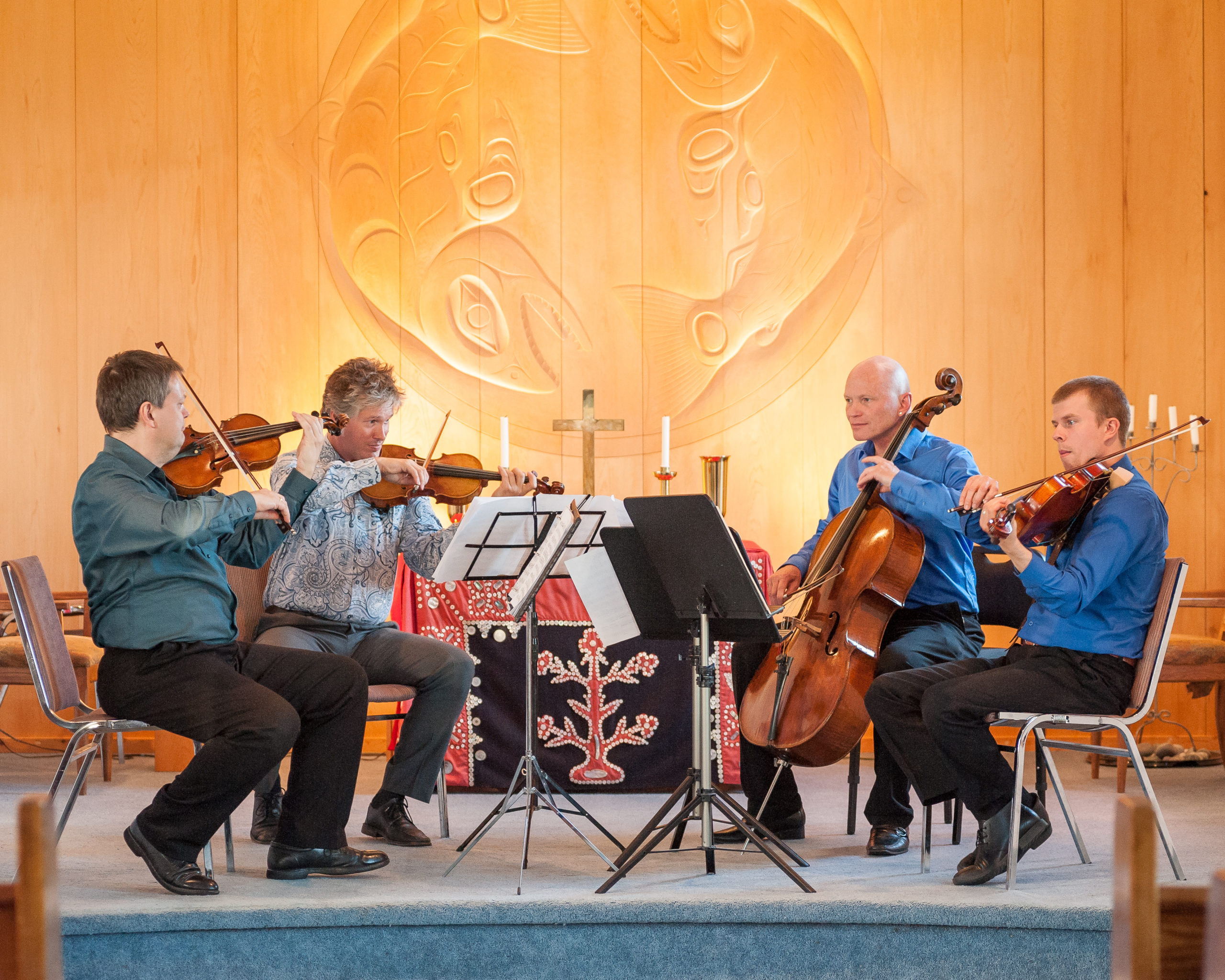 Chamber Music Quartet in Quadra Church