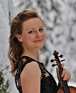 Natasha Hall with Violin