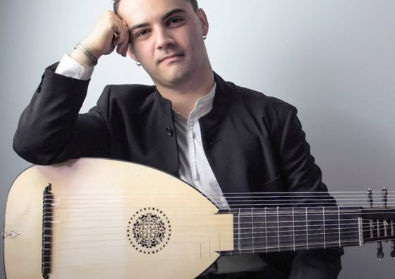 Dr. Konstantin Bozhinov, PhD with Lute